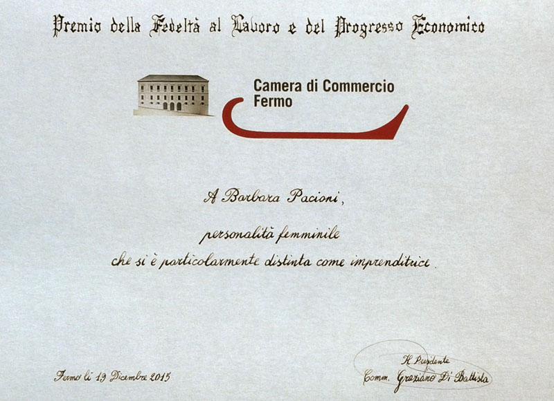 Premio della fedeltà al lavoro e del progresso economico